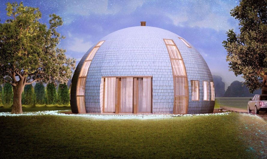 Astonishing And Amazing Futuristic Architecture: Could Geodesic Domes be the Buildings of the Future?